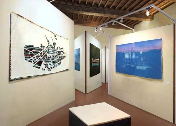 luisella rolle tessuti urbani_2003_palazzo opesso_chieri_cassettoni