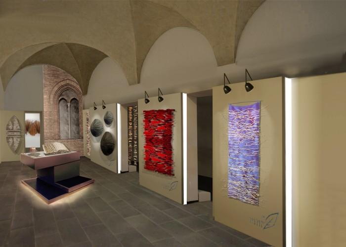 marie noelle fontan, la natura tessuta_2003_palazzo ope_chieri_2