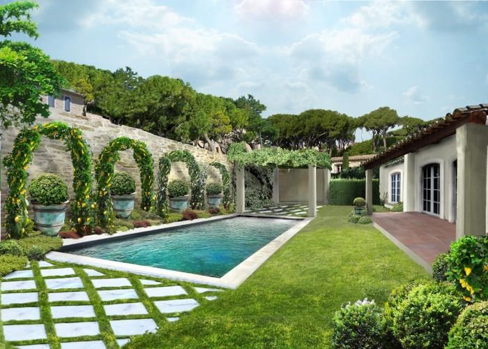 mayson du pay_Saint Tropez_giardino sud
