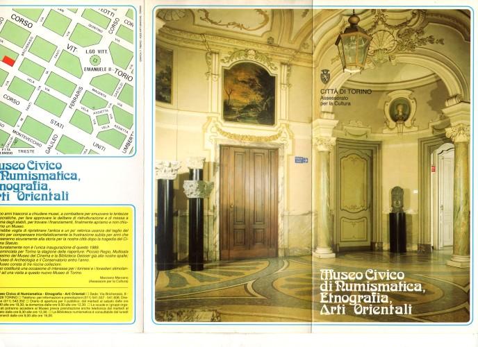 museo civico di numismatica_1989_depliant fronte