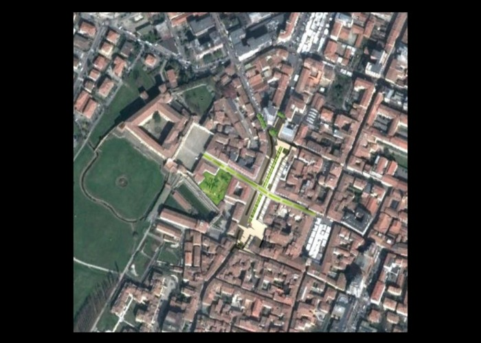 piazza Martiri Partigiani_Sassuolo_2012_inquadramento urbano