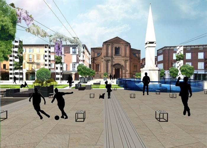 piazza Martiri Partigiani_Sassuolo_2012_san giorgio corta