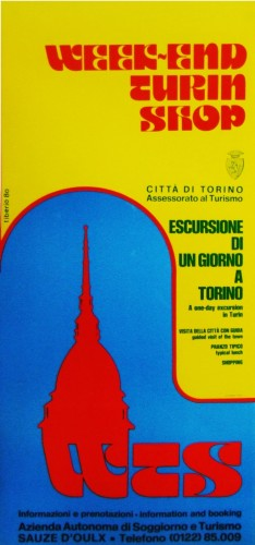 week end Turin shop_1980_poster